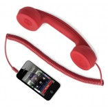 Hi-ring телефонная трубка red