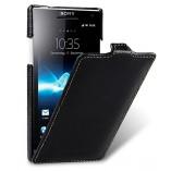 Чехол - книжка Melkco для Sony Xperia S (Black LC) черный